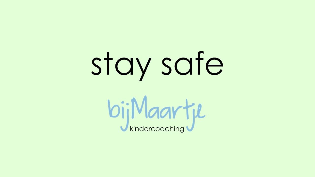 Bijmaartje corona - stay safe