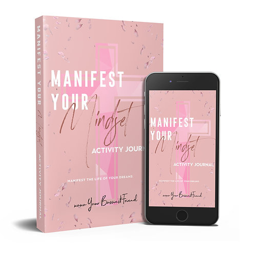 Manifest Your Mindset - Activity Journal E-BOOK