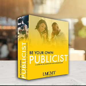 Be Your Own Publicist Box