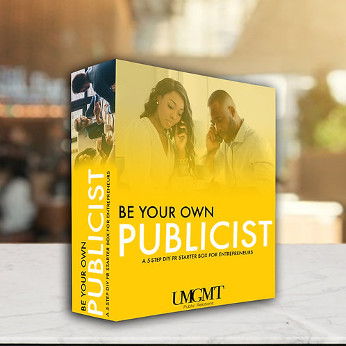 Be your own Publicist Deluxe Edition