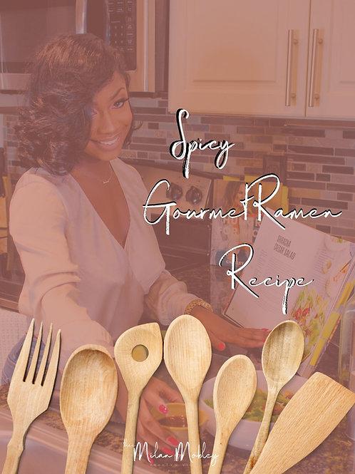 Gourmet Spicy Ramen Recipe