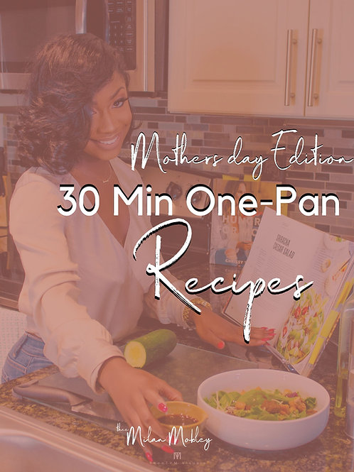 30-min One-Pan Recipes
