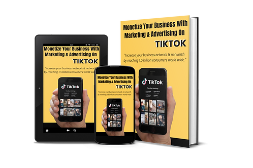 Monetize your Business with Marketing & Advertising On TikTok