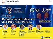 Reunion de actualization de HPB y Dolor Pelvico