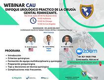 Webinar CAU - ENFOQUE UROLOGICO PRACTICO DE LAO GENITAL FEMINIZANTE.