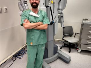 A cirurgia do amanhã, hoje. Cirurgia Robótica.