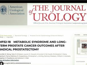Síndrome metabólica associada a piora do câncer de Próstata