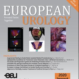 Artigo do Professor Flávio na capa da publicação #1 da Urologia Mundial - European Urology out/21