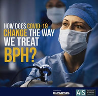 How does COVID-19 change the way we treat BPH?