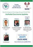Urothelial Carcinoma Updates - Saudi Urological Oncology Group Virtual Club