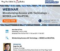 Miniaturizing Access with Technology — MOSES and MiniPCNL