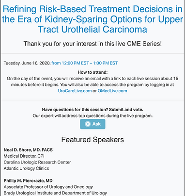 Refining Risk-Based Treatment Decisions in the Era of Kidney-Sparing Options for Upper Tract Urothelial Carcinoma