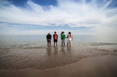 Youth on Costa del sol beach