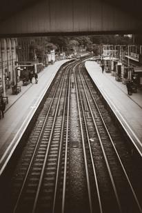 Railway station London