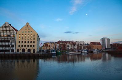 Gdansk harbour