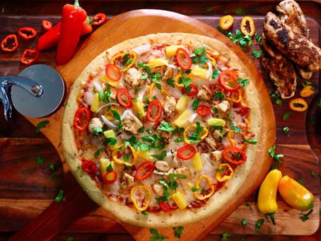Sweet Jerk Chicken Pizza