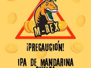 ¡Cuidado! M-Rex suelta