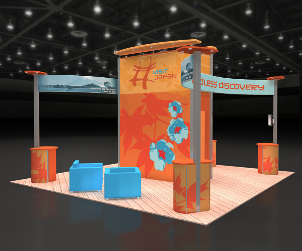 64082R1-20x20-Exhibit trade show display