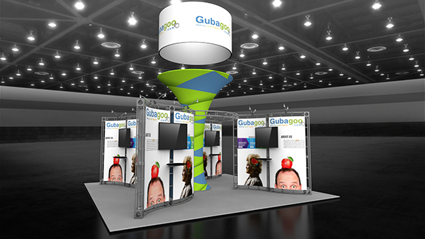 100412V1-20x20-Exhibit trade show display