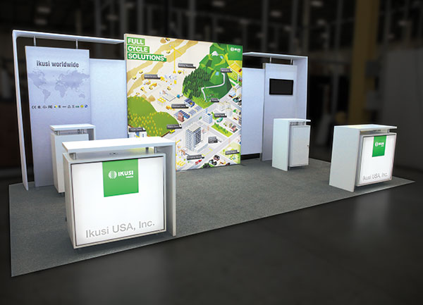 639156-Exhibit trade show display