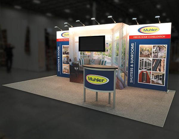 672638-Exhibit trade show display