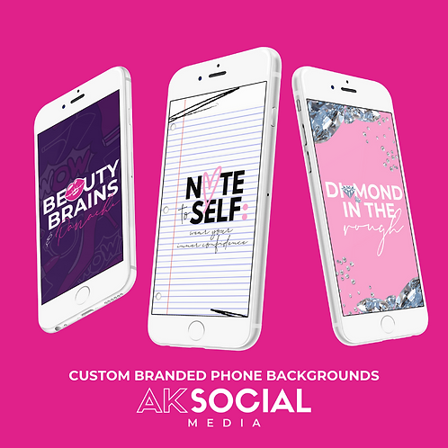 BRANDED PHONE BACKGROUNDS