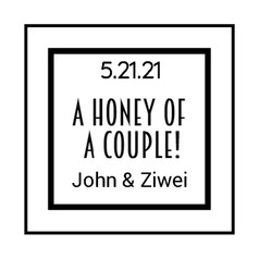1.1 Wedding Label