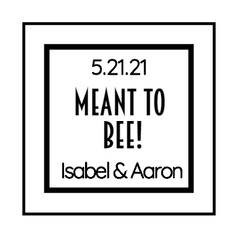 1.7 Wedding Label