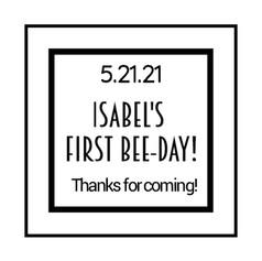 2.2 Birthday Label