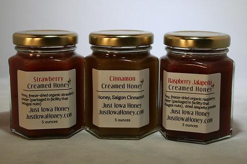Creamed Honey Sampler Pack