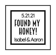 1.3 Wedding Label