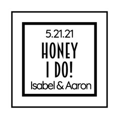 1.4 Wedding Label