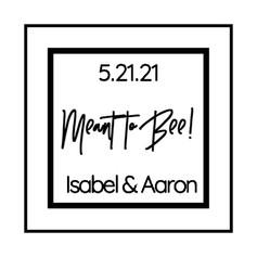 1.2 Wedding Label