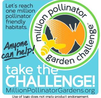 Million Pollinator Garden Challenge:  BEE ONE IN A MILLION