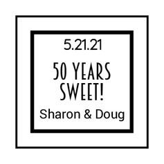6.2 Anniversary Label