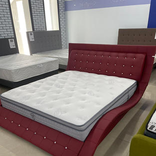 Ліжко  В210 + Матрац  Trampole Voguer