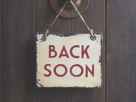 Back Soon!