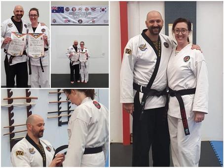 Congratulations Master Nick & Elly