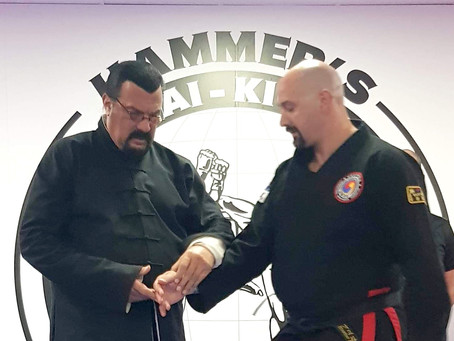 Training seminar with Steven Seagal