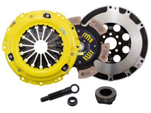 ACT HD/RACE SPRUNG 6 PAD CLUTCH KIT AND FLYWHEEL