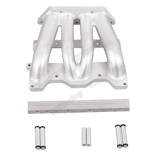 CXRacing LOWER Aluminum Sheetmetal Intake Manifold (IM-FCFD-4)