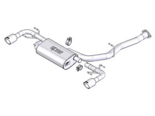 2004-2008 RX-8 Borla Cat Back (1014015)