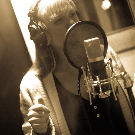 Recording First Instinct - by BUTTER Photography