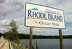 Picture of Rhode Island Sign
