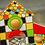 Thumbnail: Encastrement maisons mosaïques doubles
