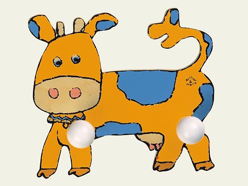 Porte-manteau vache