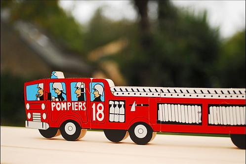 Puzzle camion pompier