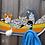 Thumbnail: Porte-manteau chats pêcheurs