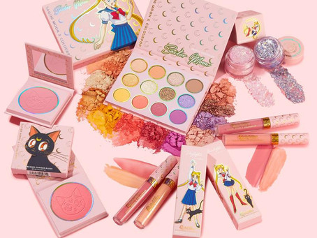 SAILOR MOON X COLOUR POP COLLECTION REVIEW