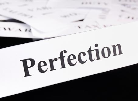 Perfectionism Kills Progress